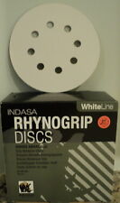 Indasa Sanding Discs, 5 inch 8 Hole  Hook & Loop 220 Grit  25 Disc Per Pack
