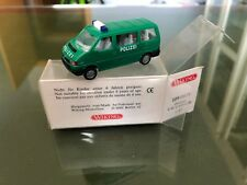 WIKING 1:87 VW CARAVELLE POLIZEI