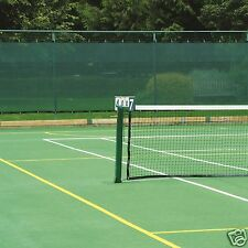Premium Tennis Court Privacy Windbreak Netting Surround Screen 2m x 12m Green