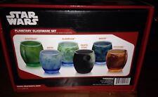 Star Wars Planetary Glass Set of 6