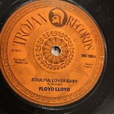 "FLOYD LLOYD Soulful Lover Baby 1977 UK 7"" vinyl single EXCELLENT CONDITION 45"
