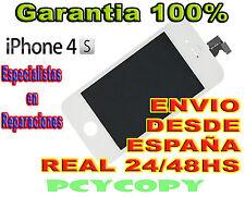 PANTALLA LCD COMPLETA + TACTIL PARA IPHONE 4S DIGITALIZADOR BLANCO TOUCH 4