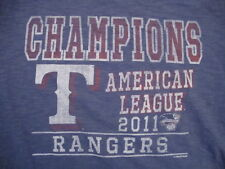 Baseball MLB American League Champions 2011 Soft Stretch 47 Brand T Shirt L