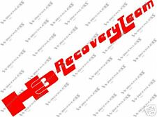 H3 RECOVERY TEAM DECAL HUMMER JEEP WRANGLER CJ