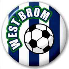 West Brom Fc Supporters Football 25Mm Pin Button Badge Lapel Pin