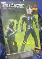 G.I. Joe The Rise of Cobra DUKE Deluxe Costume Size 7-8 New Medium Med M