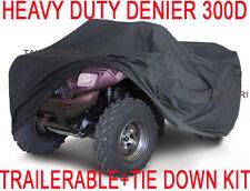 Polaris Sportsman 500 600 700 ATV Trailerable Cover HEAVY DUTY+TIE DOWN KIT X1
