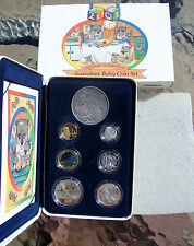 2001 BABY PROOF coin set. Brilliant set. Only 15,011 made. C/V $325.00. CHEAP!!!