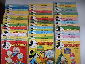 Micky Maus 46 Hefte aus 1980 - 26 mit Bastelteil