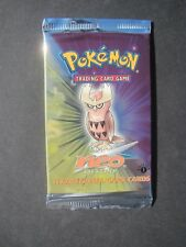 Pokemon 1ST EDITION NEO DESTINY BOOSTER PACK - SEALED (NOCTOWL) - UNWEIGHED