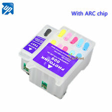 Refillable Ink cartridges T007 T009 For Photo 1270 1280 1290 900 with ARC chip