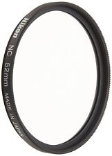Nikon Neutral Color Filter NC 52mm NC-52 Clear Protector Filter New Japan