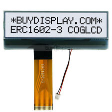 Slim 16x2 COG LCD Character Module w/Tutorial,FPC Connection,High Contrast