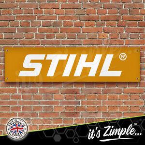 STIHL CHAINSAW BANNER Garage Workshop PVC Sign Car Display