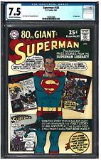 SUPERMAN #183 CGC 9.0 (1/66) DC Comics 80 Page Giant