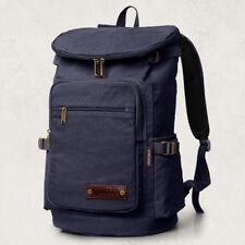 Aretha large vintage men duffle travel laptop backpack school campus bag