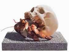 Josh Keyes Migratory Soul Art Print Tiny Showcase Skull Hermit Crab Poster