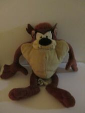 Looney Tunes / Boots 10 Inch Taz / Tazmanian Devil Soft / Plush Toy