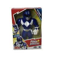 Mega Mighties Playskool Heroes Power Rangers Blue 10 Inch Poseable Action Figure