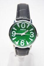 Russian mechanical watch RAKETA BIG ZERO. Green dial. 34mm