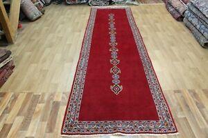 Fine Handmade Persian Runner, Fine Floral Design 370 x 100 cm