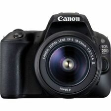 CANON EOS 200D + EF-S 18-55MM F/3.5-5.6 III KIT KAMERAS SLR NEU