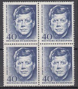 BRD 1964 Mi. Nr. 453 4er Postfrisch LUXUS!!! (31229)