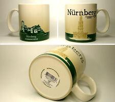 ▓#▓ Starbucks City Mug Icon NUERNBERG * Germany Tasse 16oz NEW with SKU  ▓#▓