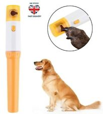 CATs / DOGs Pets Nail Trimmer Rotating Battery Powered File Painless and Simple