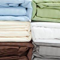 Deep Wall 3 pc Fitted Sheet Set 1000TC Egyptian Cotton AU Single Size All Stripe