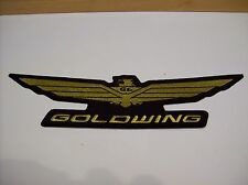 "HONDA GOLDWING 14"" GOLDWING BACK PATCH EMBROIDERED PATCH"