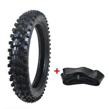 110/90-18 4.10/3.50X18 Tire Tyre and Tube for Motorcycle Dirt Bike Scooter zu