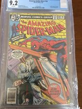 The Amazing Spider-Man #189 (Feb 1979, Marvel) Cgc 9.2 White pages; Man-Wolf app