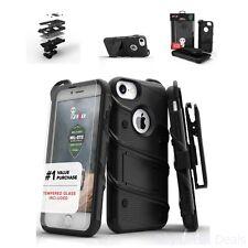 Zizo Bolt Case for iPhone 8 - Black/Black