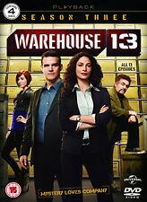 DVD:WAREHOUSE 13 - SERIES 3 - NEW Region 2 UK