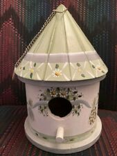 Nce Kathy Hatch Birdhouse Herb Theme Floral Green Country Kitchen 2001 Vintage