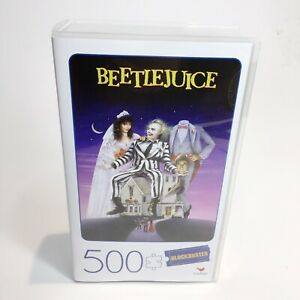 Beetlejuice 500 Piece Blockbuster Puzzle - Brand New Factory Sealed Packaging