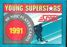 18 COUNT LOT 1991 SCORE YOUNG SUPERSTARS HOCKEY FACTORY 40 CARD SET