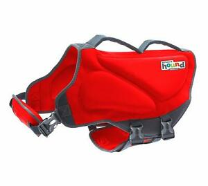 Outward Hound Dawson Dog Life Jacket, Large, Red