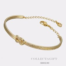 Authentic Swarovski Gold Plated Voile Bangle #5083130