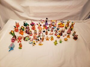 Mixed Lot Vintage Small Toys, Fraggles, Disney, Happy Meal, Cabbage Patch & More