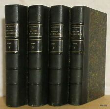 DARRAS Histoire générale de l'église 4 VOLUMES Vivès 1871 BE