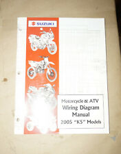 "2005 Suzuki ""K5"" Motorcycle & Atv Wiring Diagrams Service Manual Book"