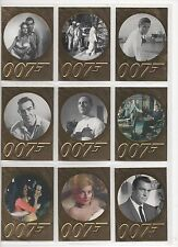 JAMES BOND-50TH ANNIVERSARY SERIES 2 FULL 99 CARD BASE SET