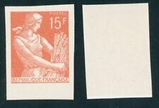 1116 B - Moissonneuse 15Fr rouge-orange - non émis