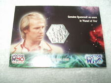 Doctor Who Costume Card Spacesuit from Planet of Fire CC2