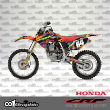 GRAPHICS DECALS STICKERS FULL KIT FOR HONDA CRF150R 2007-2018