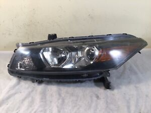 2008 2009 2010 Honda Accord Coupe OEM Left Driver Halogen Headlight