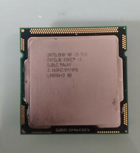 Procesador Intel Core i5 750 4 nucleos / 4 hilo 3.2GHz  para placa 1156