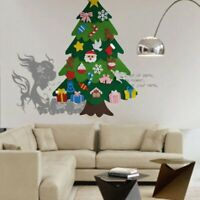 Kreative Filz Weihnachten Baum für Kinder 3.2Ft Diy Weihnachtsbaum mit Klei D8U4